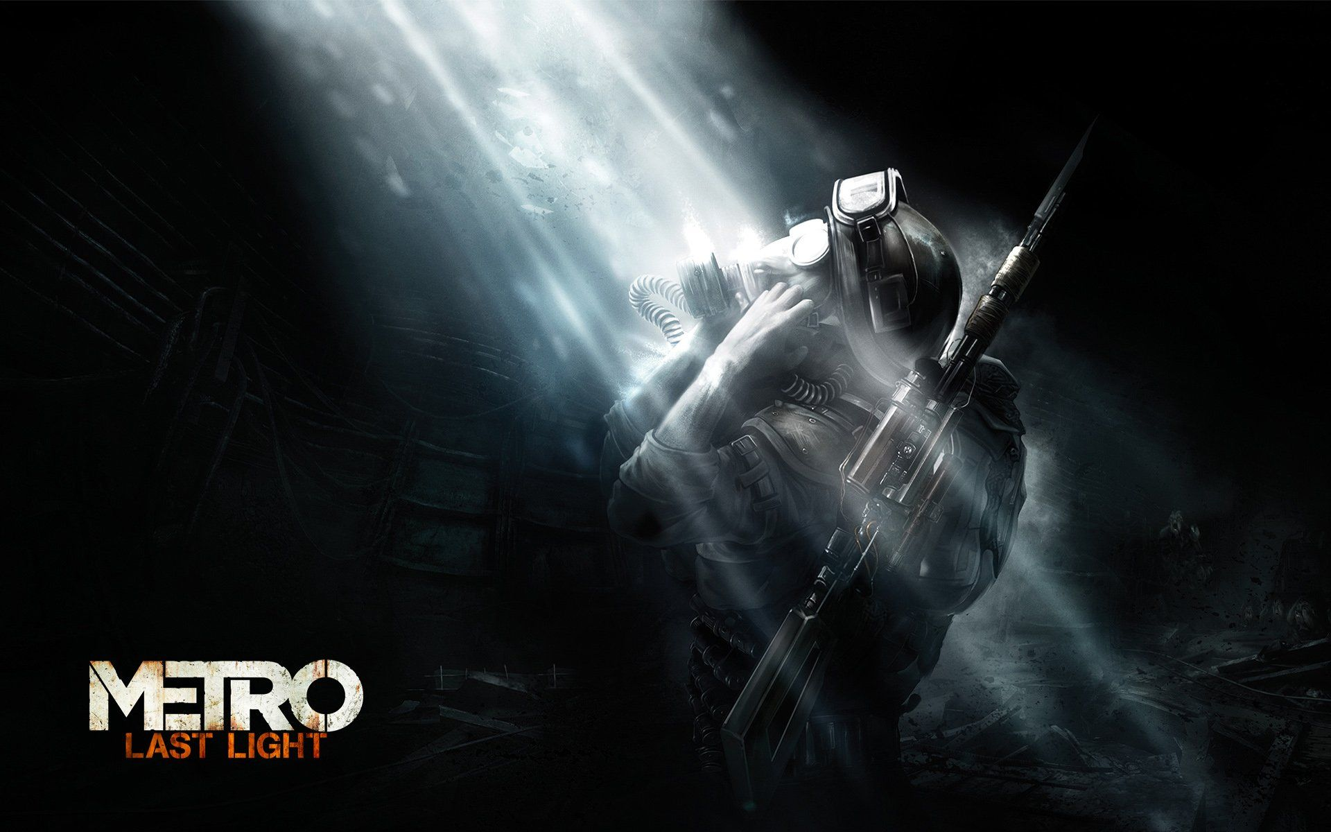 Metro Wallpaper Walldevil Metro Last Light Light In The Dark Poster Prints