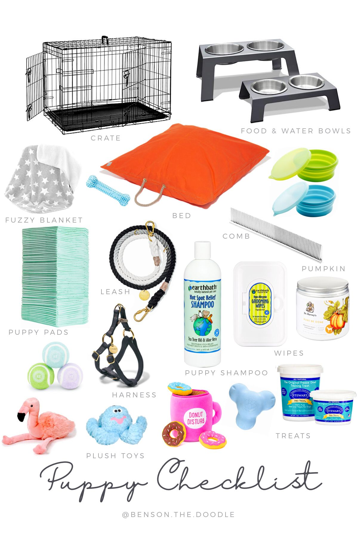 Puppy Essentials Checklist What You Need For A New Puppy Puppy