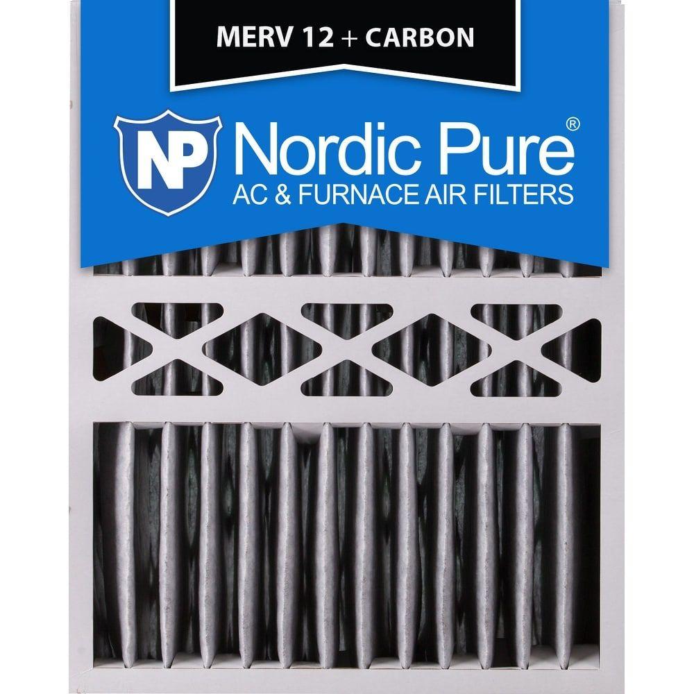 Nordic Pure 16x20x5 Honeywell Replacement Pleated MERV 12