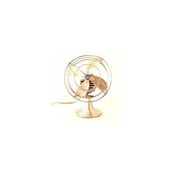Vintage Aluminum Chrom Ever Fan C 1950s Thirdshift