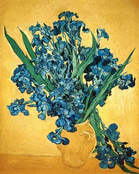Schwertlilien Vincent van Gogh #KUNSKOPIE #vanGogh
