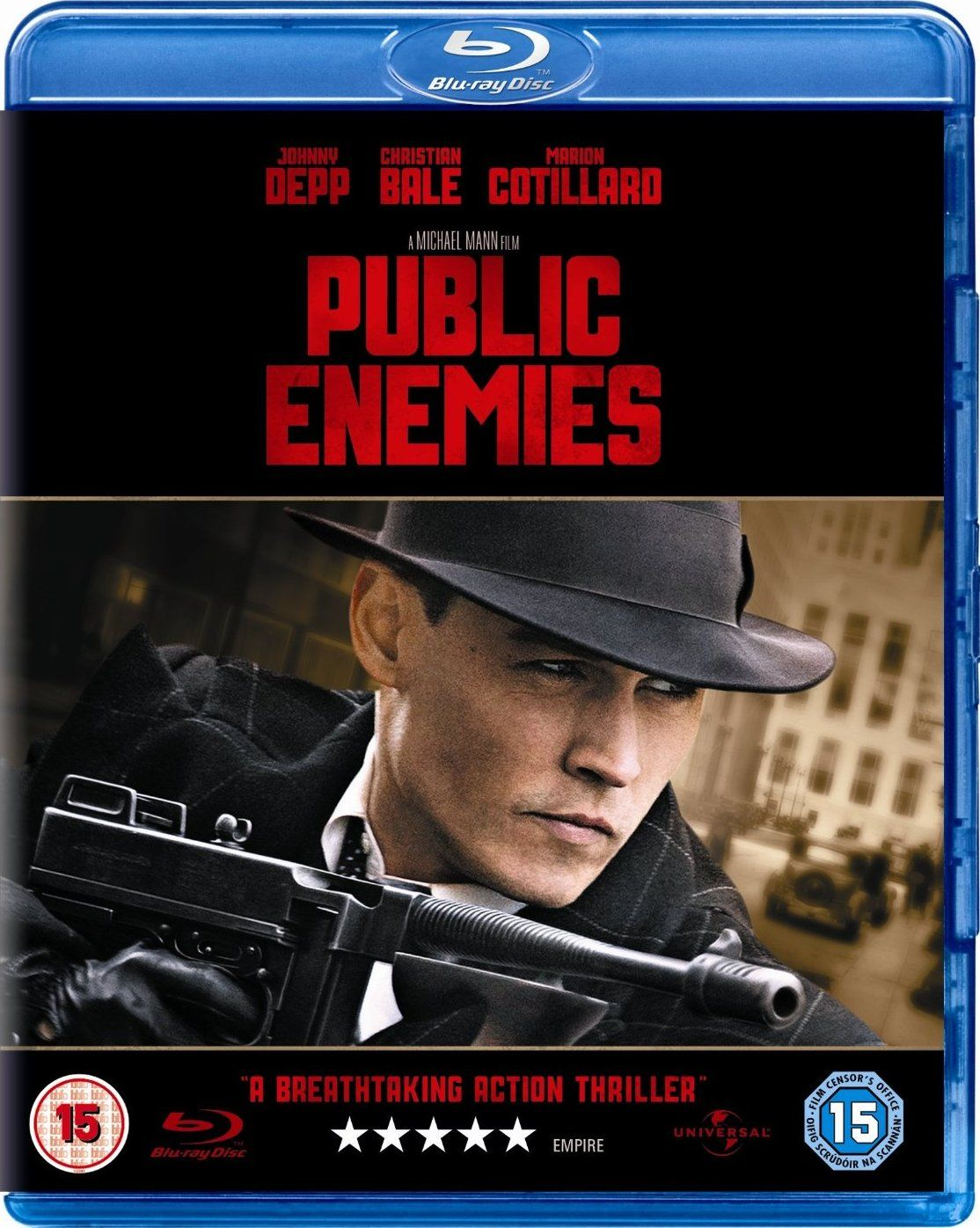 Public Enemies 2009 BluRay 720p 1.2GB [Hindi – English] AC3 DD 5.1 MKV