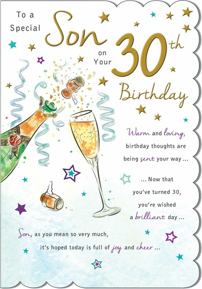 Pin By Pat Augustyn On Birthday Wishes And Special Occasions 30th Birthday Cards Happy Birthday Man 30th Birthday