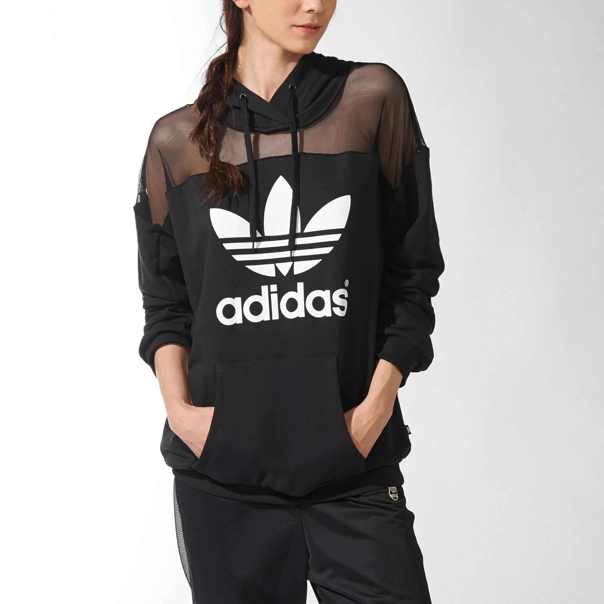 newest 1b58e 17a50 Rita Ora Sudadera con capucha Logo adidas   adidas España