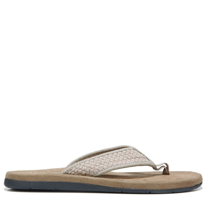 Crevo Men's Brockhill Thong Sandals (Taupe) - 13.0 M
