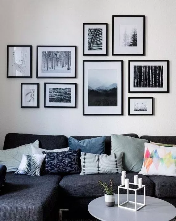 64 Outstanding Gallery Wall Decor Ideas 27 Design And Decoration Gallery Wall Living Room Wall Decor Living Room Room Wall Decor