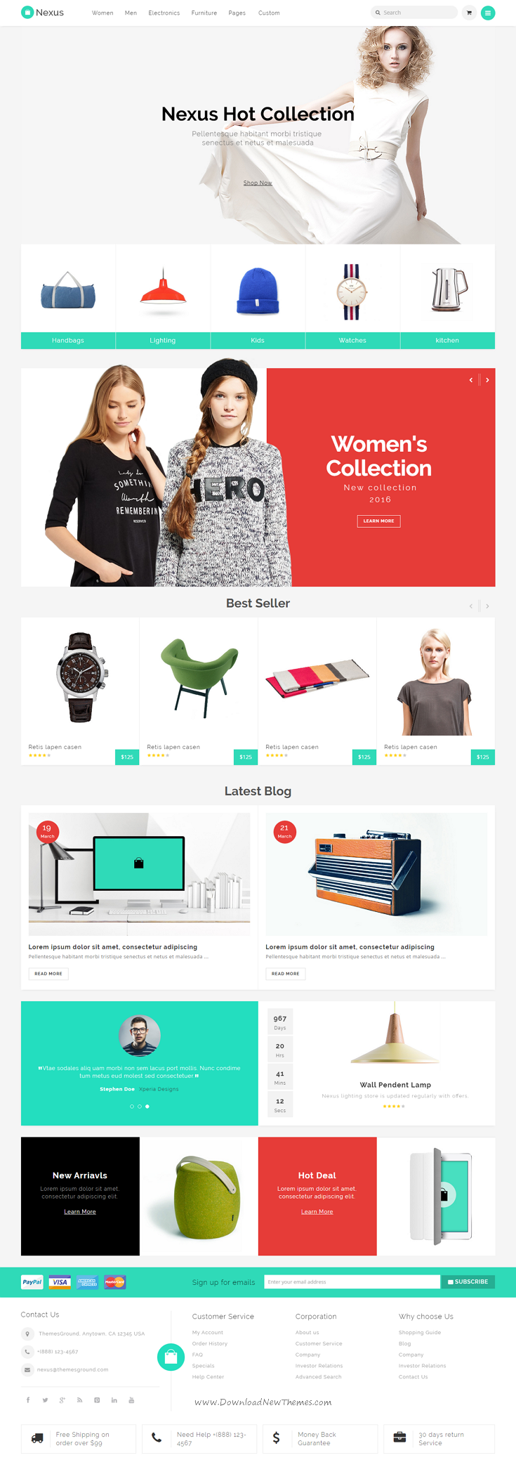 Nexus - Responsive Ecommerce Template | eCommerce and Template