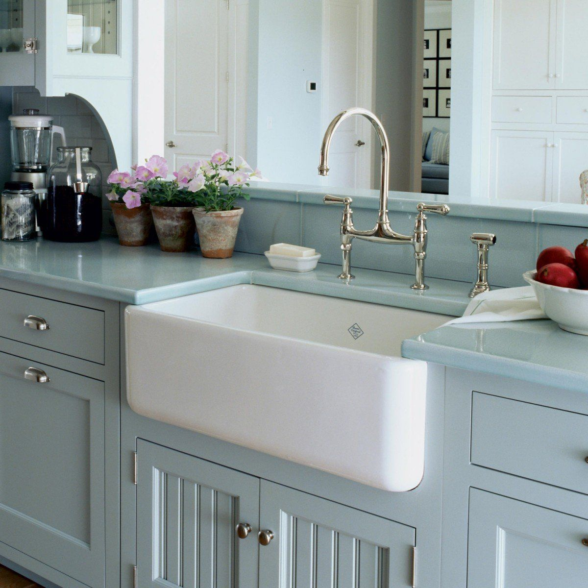 Shaws Lancaster Fireclay Apron Front Farmhouse Sink With Images