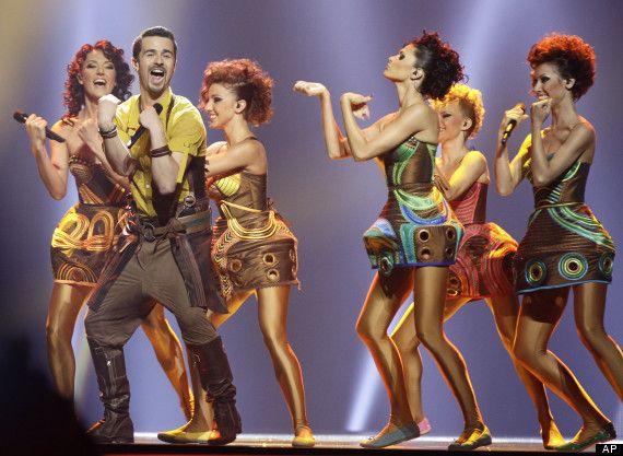 Pasha Parfeny's Dancers - 2012 - Moldova | Wonder woman ...