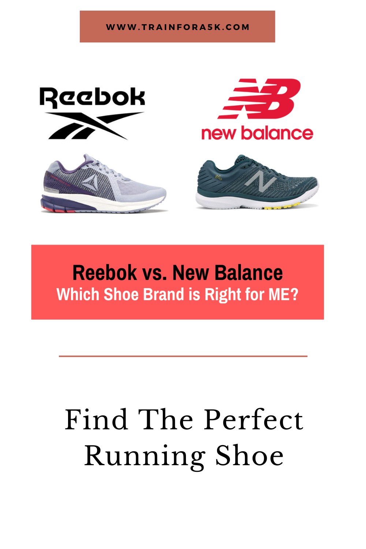 Reebok Vs New Balance What S The Better Running Shoe Brand In