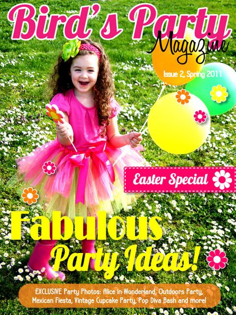 Full of party ideas - FREE Party Magazine
