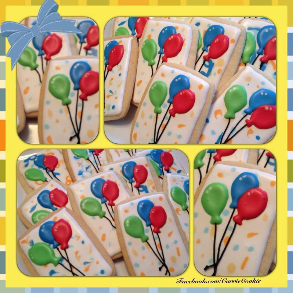 Birthday cookies birthday balloons facebookcarriecookie birthday cookies birthday balloons facebookcarriecookie negle Images