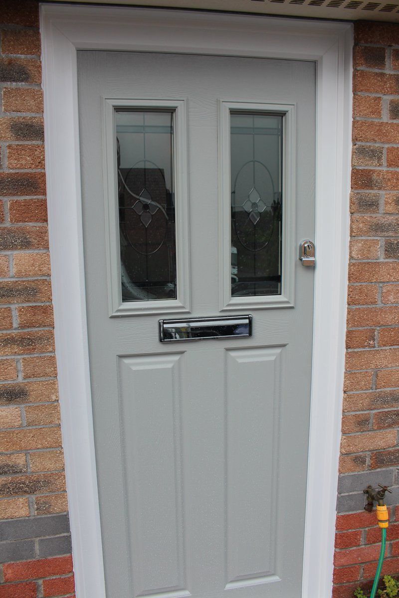 A walton composite door in our latest pearl grey makes for a a walton composite door in our latest pearl grey makes for a stunning entrance to rubansaba