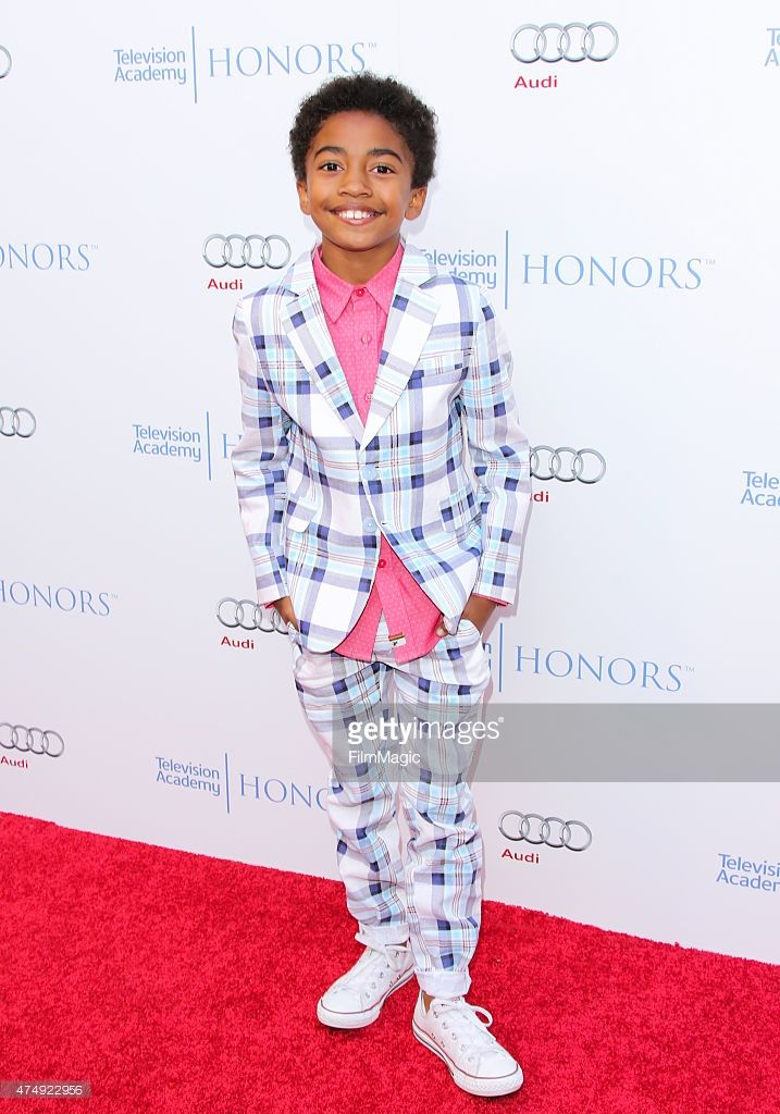 Actor Miles Brown Attends The 8th Annual Television Academy Honors At Television Academy Celebrity Kids Fashion Actor