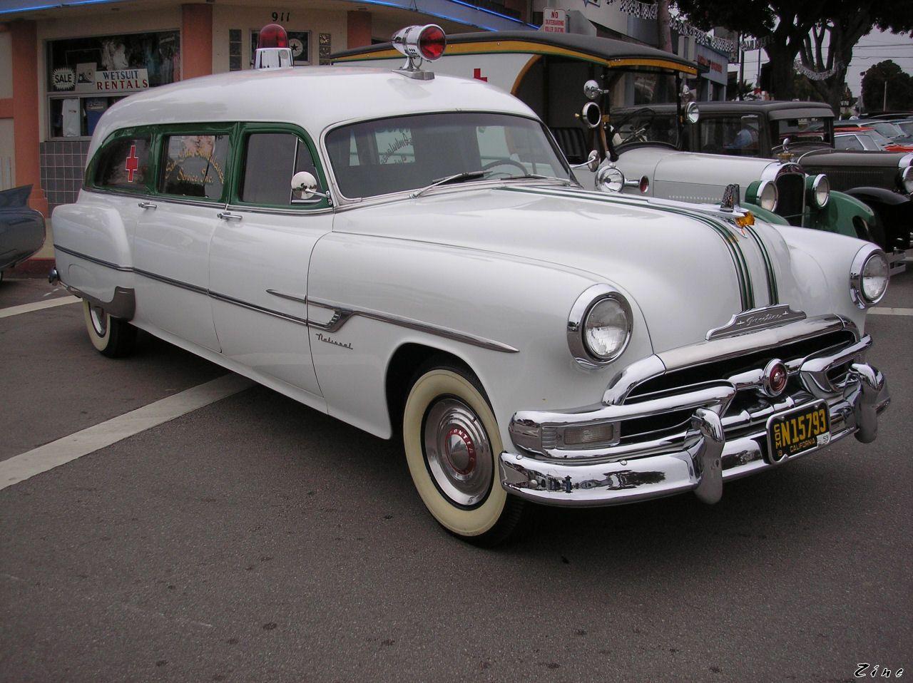 vintage Pontiac Ambulance | Ambulances & Rescue Vehicles | Pinterest ...