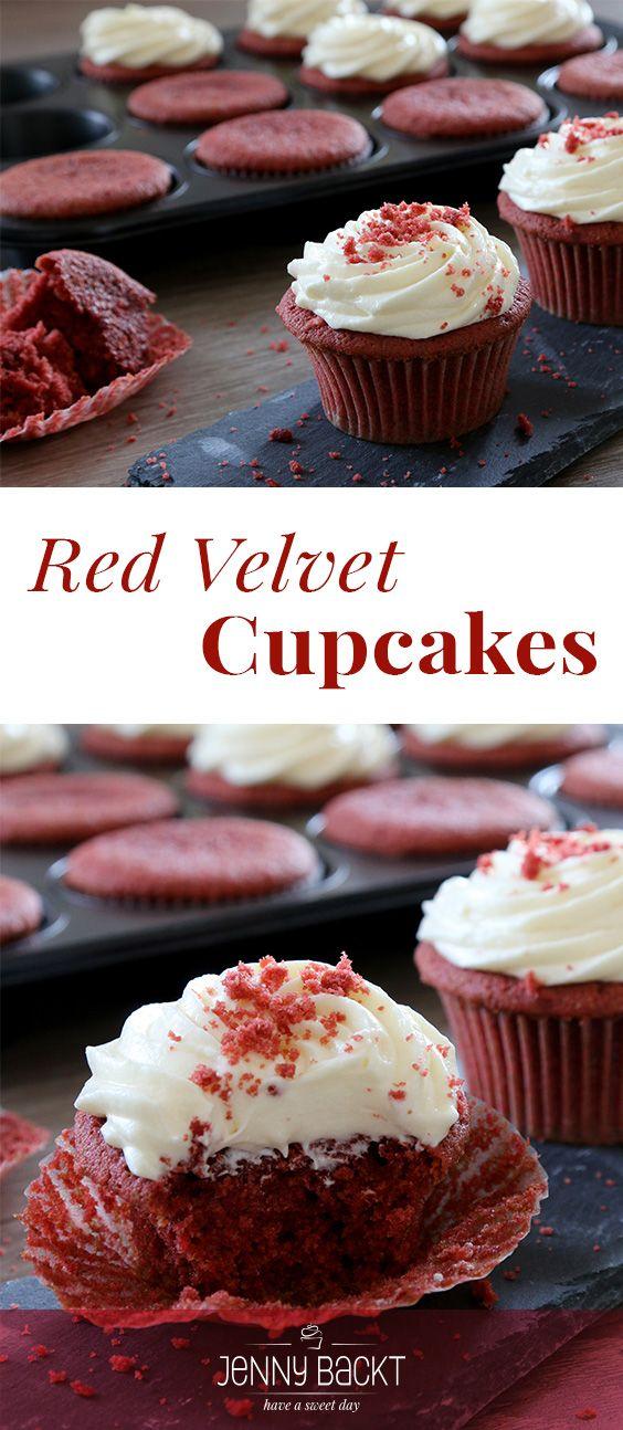 Red Velvet Cupcakes Rezept Alle Rezepte Pinterest Cupcakes