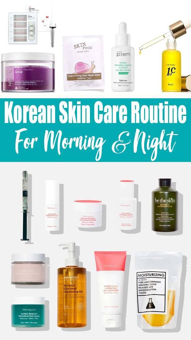 Korean Skin Care Routine Steps Night Using Best Products Beautyviralrex In 2020 Korean Skincare Routine Skin Care Routine Steps Korean Skincare