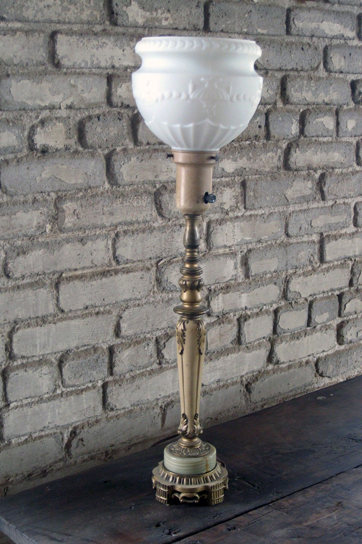 Hautelook 1920s Rembrandt Lamp Corp Table Lamp Marble