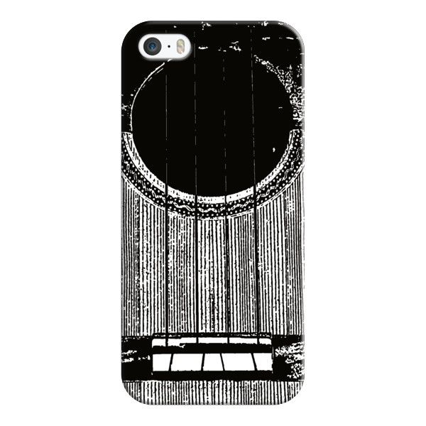 iPhone 6 Plus/6/5/5s/5c Case - Guitar (540 ZAR) ❤ liked on Polyvore featuring accessories, tech accessories, iphone case, apple iphone cases, iphone cover case and slim iphone case