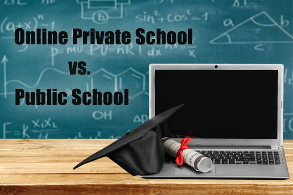 Technology Management Image: Differences Between Public And Private Online School