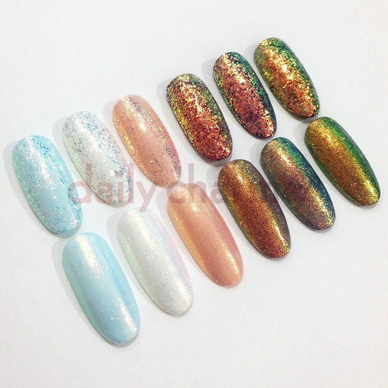 Daily Charme Aurora Fairy Dust Nail Art Glitter Additive | Gel ...