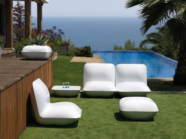 Salon de jardin Pillow par Stefano Giovannoni pour Vondom chez ...