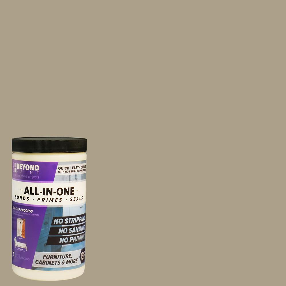 Beyond Paint 1 Qt Pebble Furniture Cabinets Countertops And More Multi Surface All In One Interior Exterior Refinishing Paint Bp07 Beyond Paint Painting Cabinets Brown Cabinets