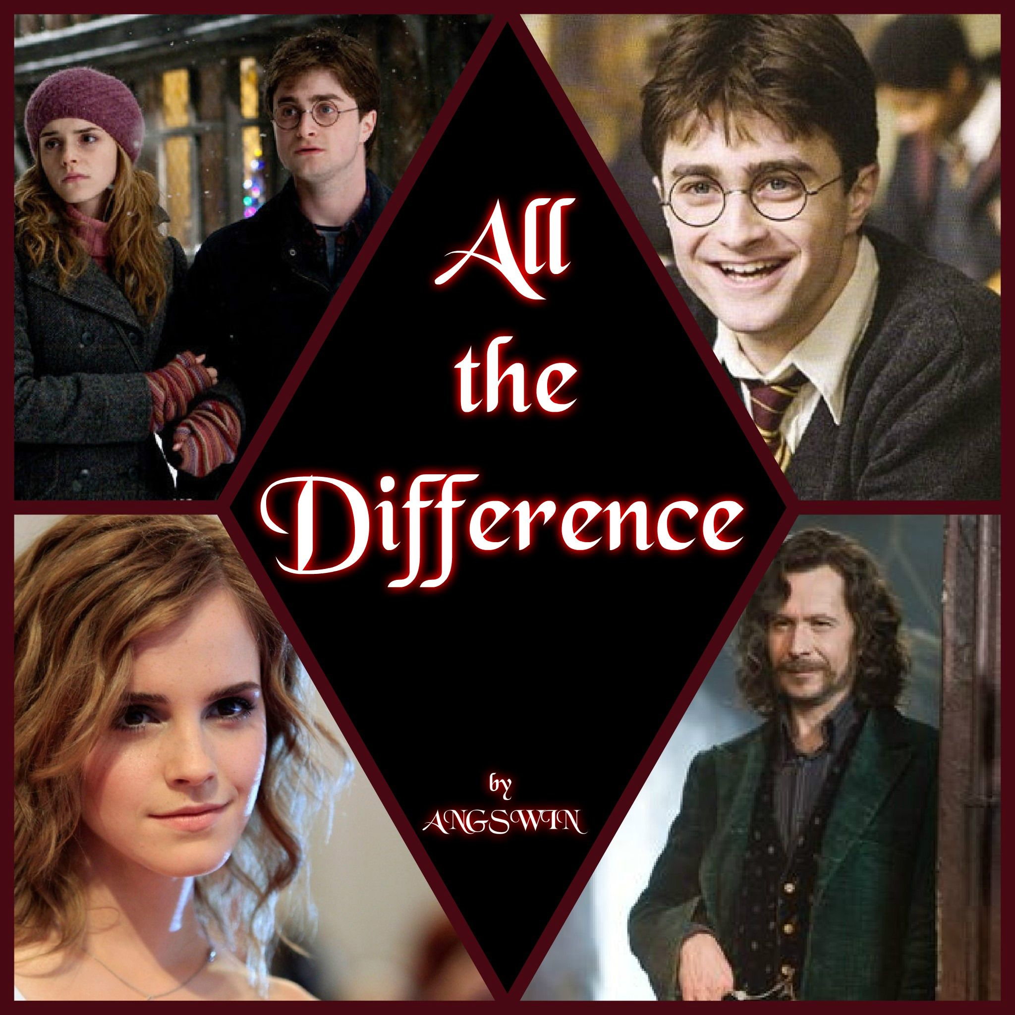 All The Difference By Angswin Harry Hermione Rating T Summary When Hermione Saves Sirius S L Harry Potter Fanfiction Harry And Hermione Harry Potter