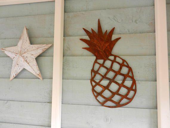 Rusty Metal Pinele Decor Decorative