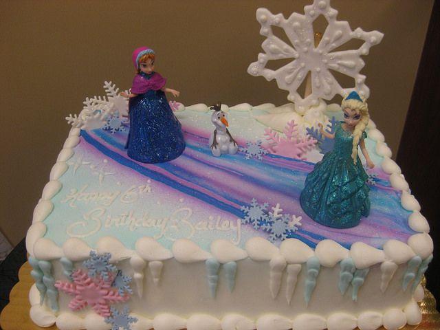 frozen birthday sheet cakes Google Search food Pinterest