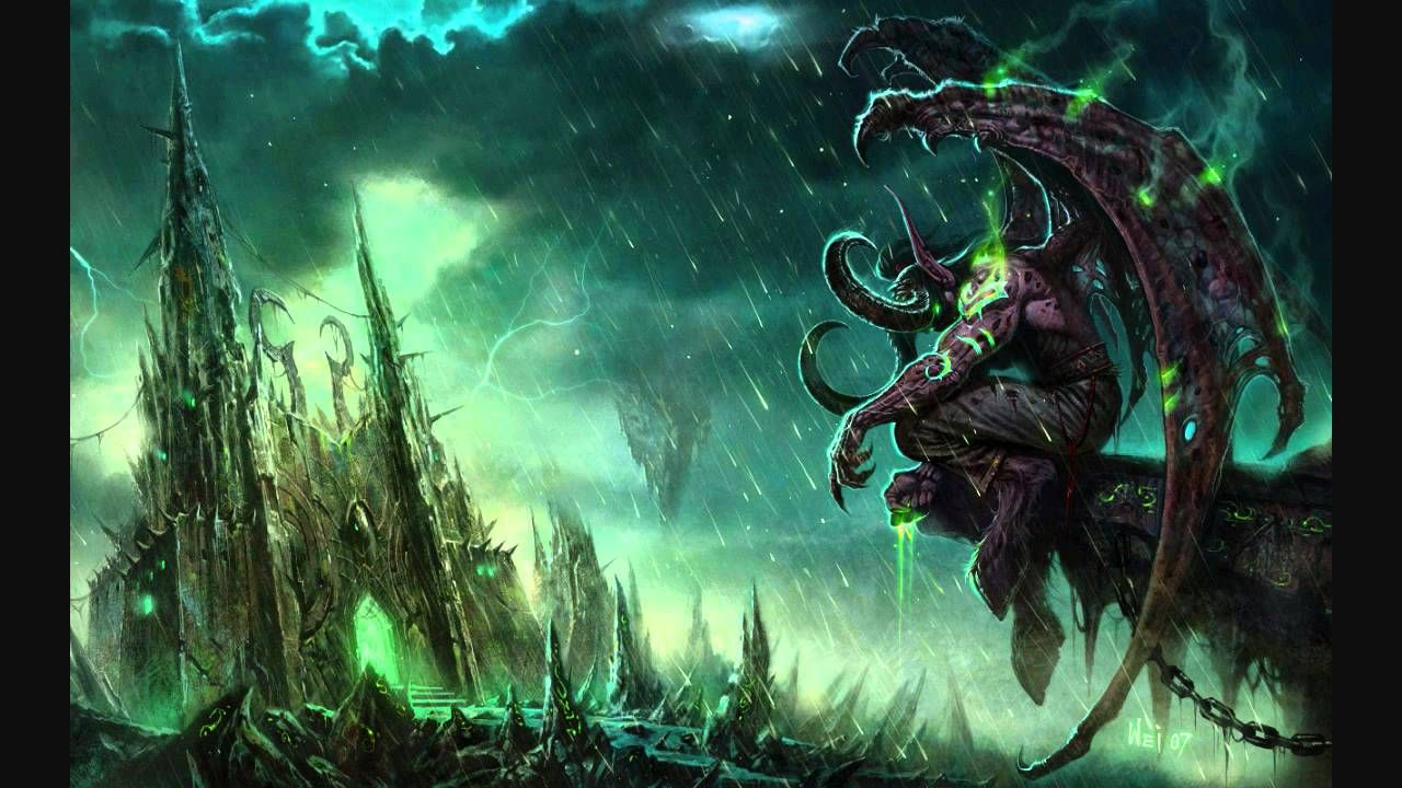 Black Temple Illidari Music of WoW The Burning Crusade