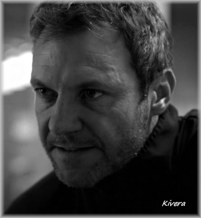 Chris Vance as Wolf in Crossing Lines.