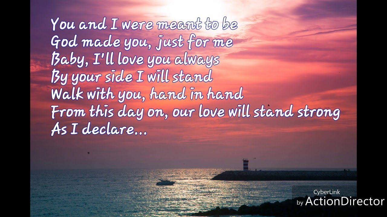 I Do Love You Christian Wedding Song Lyrics By Christian Provensen Youtube I Do Love You Wedding Song Lyrics Christian Wedding Songs