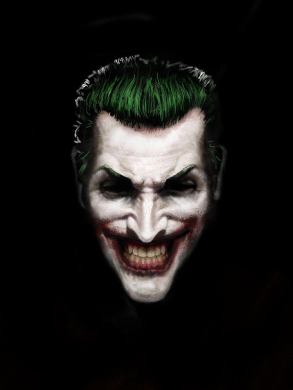 scary joker face makeup joker the clown prince of crime