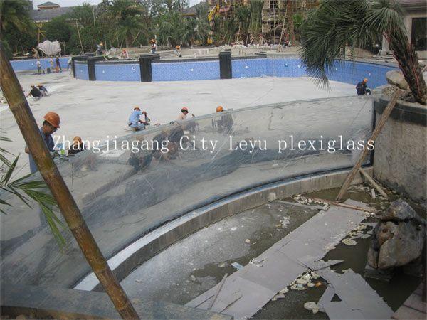 UV Resistance Acrylic Panel for Swimming Pool