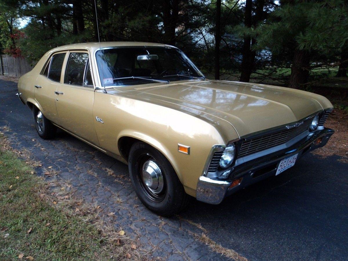 All Original 1969 Chevy Nova Sedan Chevy Nova Chevy Chevrolet Nova