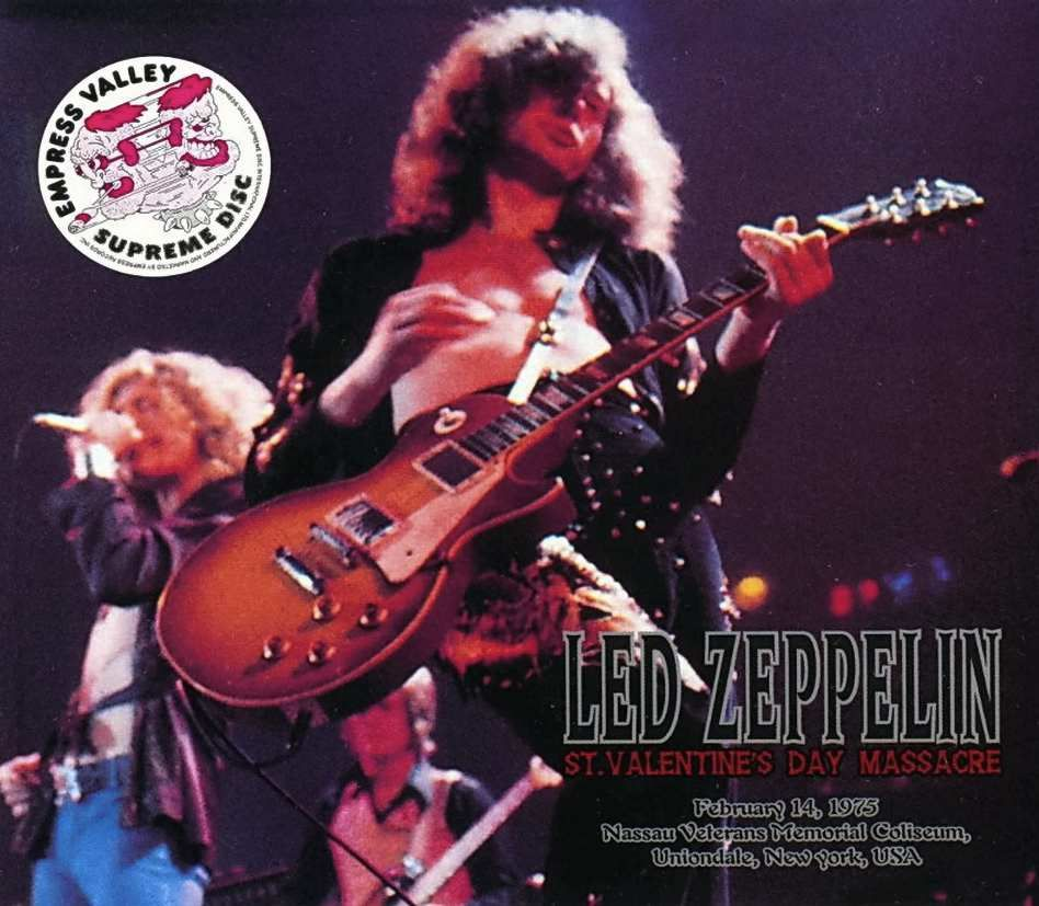 Led Zeppelin: St  Valentine's Day Massacre | LONG PLAYING