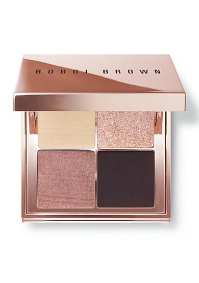This limited edition Sunkissed Pink palette is all you need to create a range of eye-opening looks. Includes a light, matte all-over shade, two medium shimmer and sparkle-infused shades, and a dark matte liner shade. The square, metallic pink-copper compact includes a large mirror for easy application on-the-go.