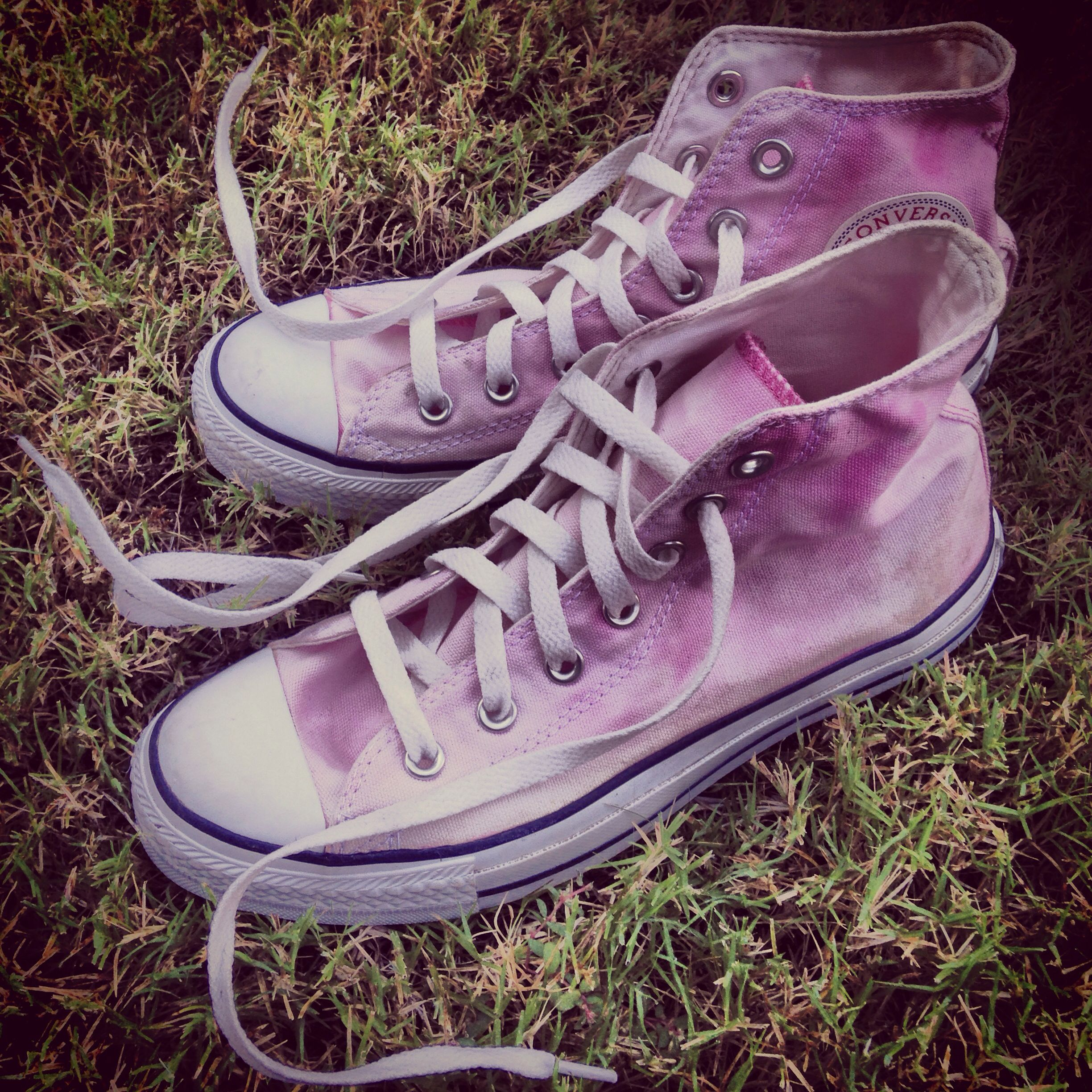 Bleached Converse CLOTHING