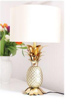 ananas lampe von zara home in baden w rttemberg. Black Bedroom Furniture Sets. Home Design Ideas