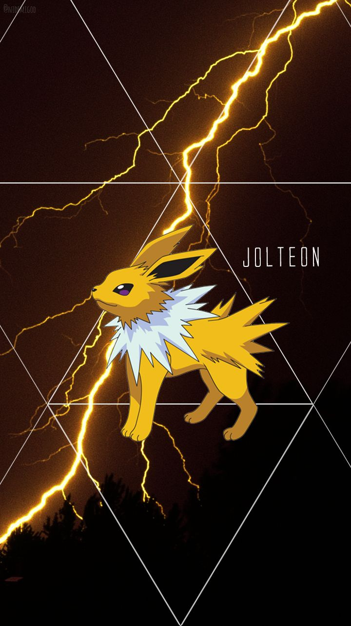 Wallpaper Jolteon Pokemon Eeveelutions Cute Pokemon Wallpaper Pokemon Eevee