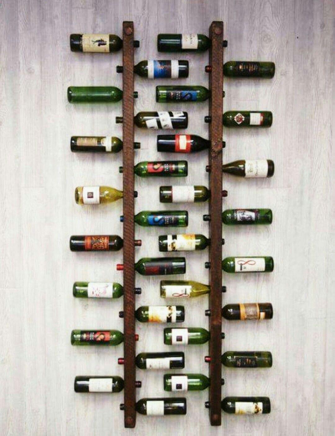 Cave À Vin Palette pinhein venter on wine racks | wine rack wall, dining