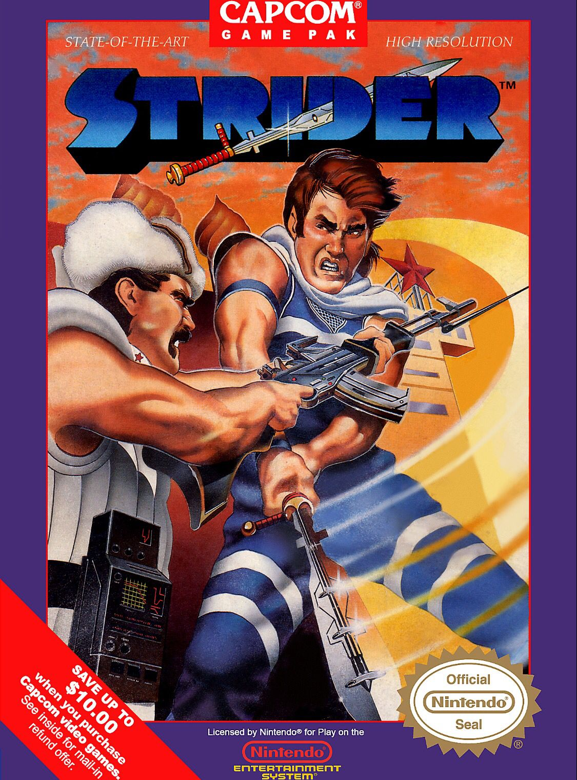 Retro Bionic Commando Game Poster////NES Game Poster////Video Game Poster////Vintage G
