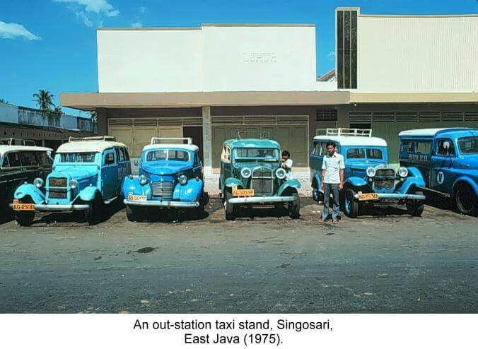 Taxi Malang 1975 Sejarah Indonesia Mobil