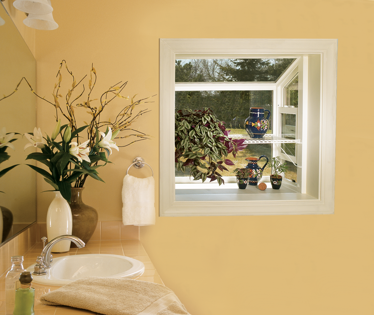 Builders Vinyl Garden Window | JELD WEN Doors U0026 Windows