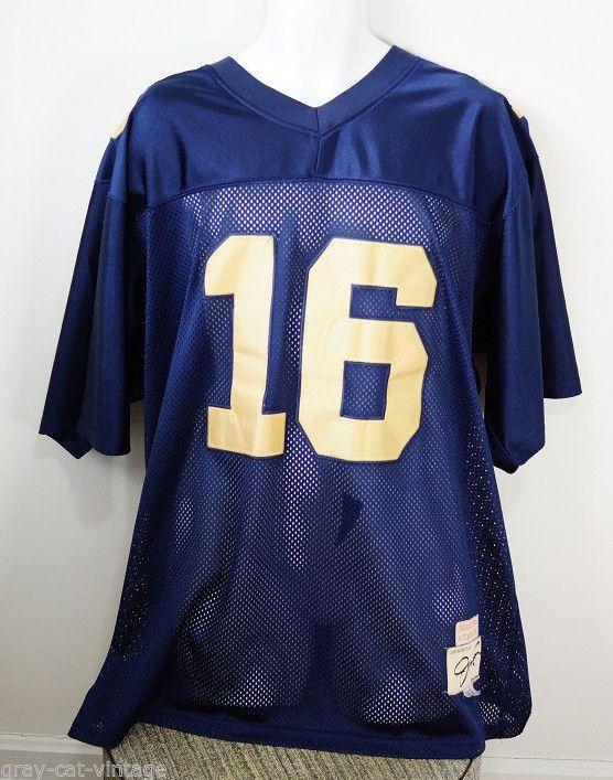 VINTAGE True School Authentics Joe Montana Notre Dame 1978 Football Jersey  54 ceb075408