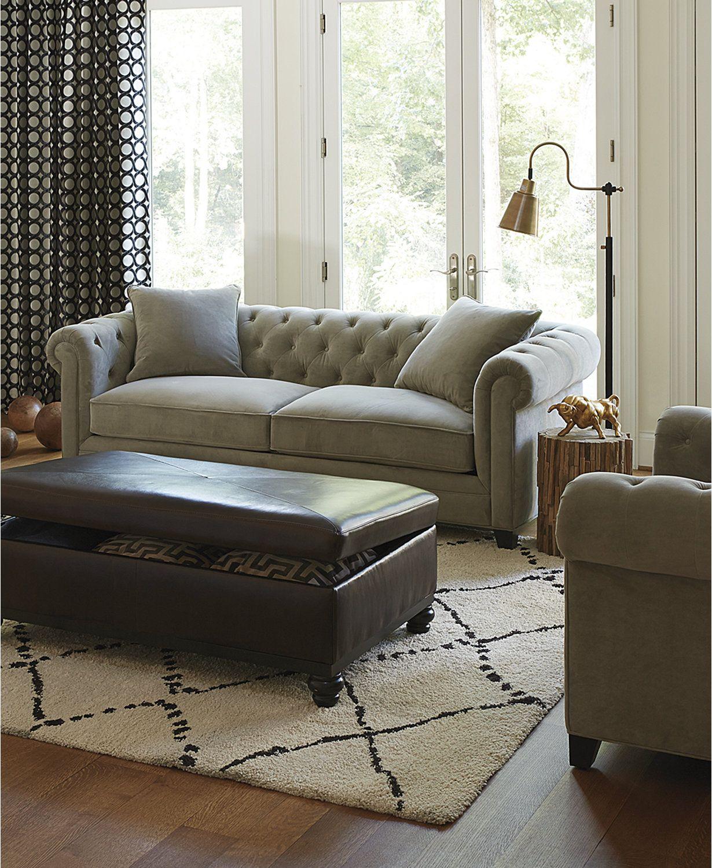 Fine Saybridge 92 Fabric Sofa Created For Macys Furniture Customarchery Wood Chair Design Ideas Customarcherynet