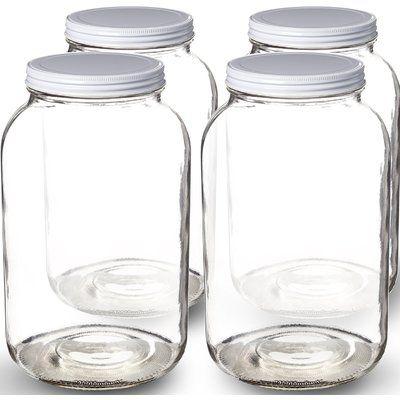 Picklemeister 1 Gallon The Picklemeister Glass Fermentation Jar