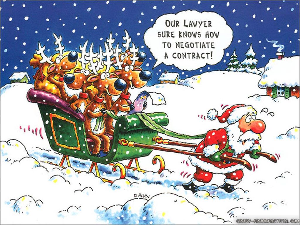 Time for a new contract hell with that lose the reindeer get a also father christmas jokes and funny xmas stories 10 reasons why women would like to be santa claus kristyandbryce Image collections