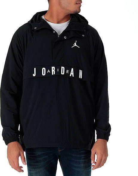 57b58b80bf96 Nike Men s Air Jordan Anorak Wings Wind Jacket